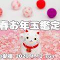 1/12 新春お年玉鑑定会のお知らせ